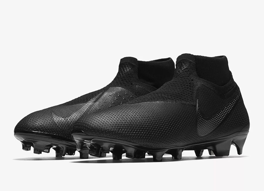 aaf8e71d5  football  soccer  futbol  nikefootball Nike Phantom Vision Elite Dynamic  Fit FG Stealth Ops - Black   Light Crimson   Black   Black