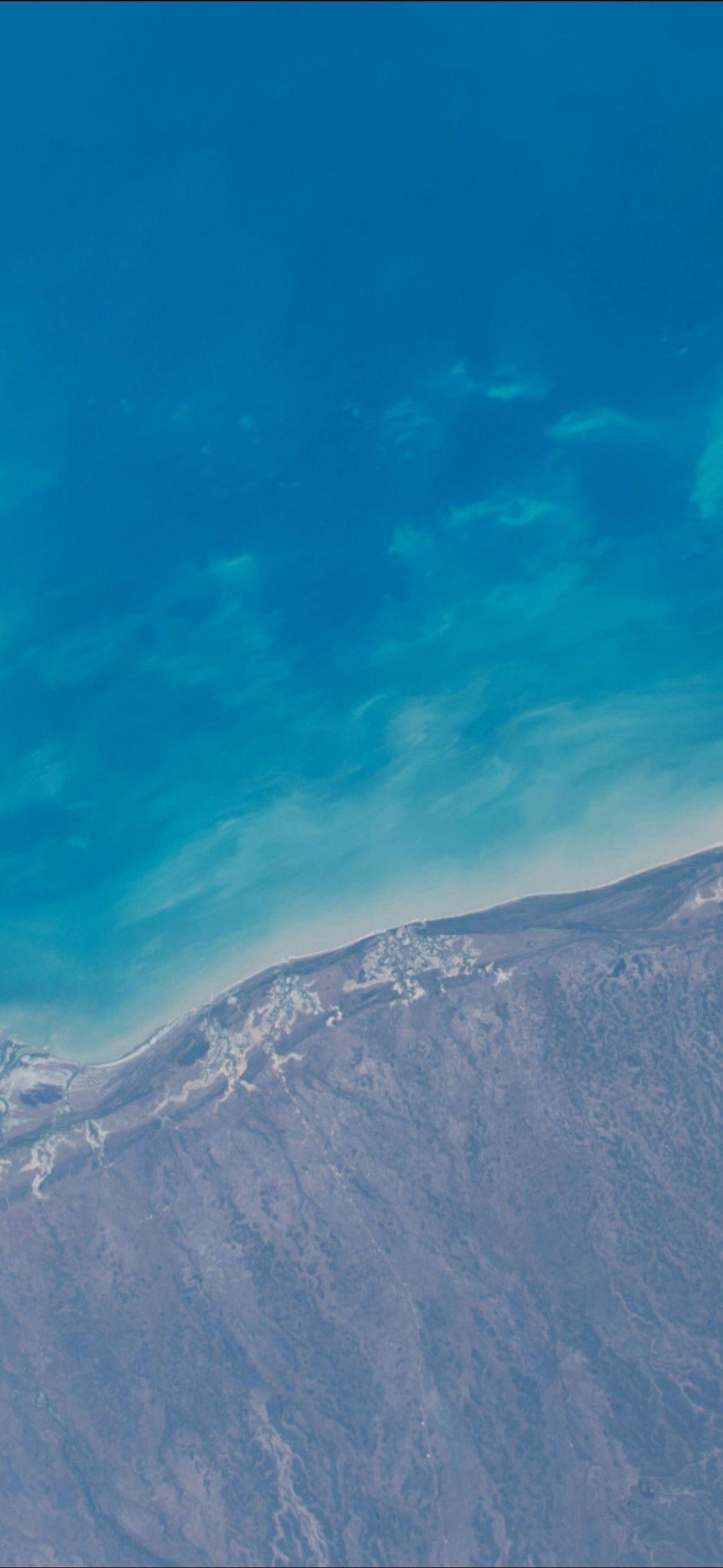 Ios 11 Iphone X Aqua Blue Water Beach Wave Ocean Apple Wallpaper Iphone 8 Clean Beauty Colour Iphone Wallpaper Ios 11 Wallpaper Hipster Wallpaper