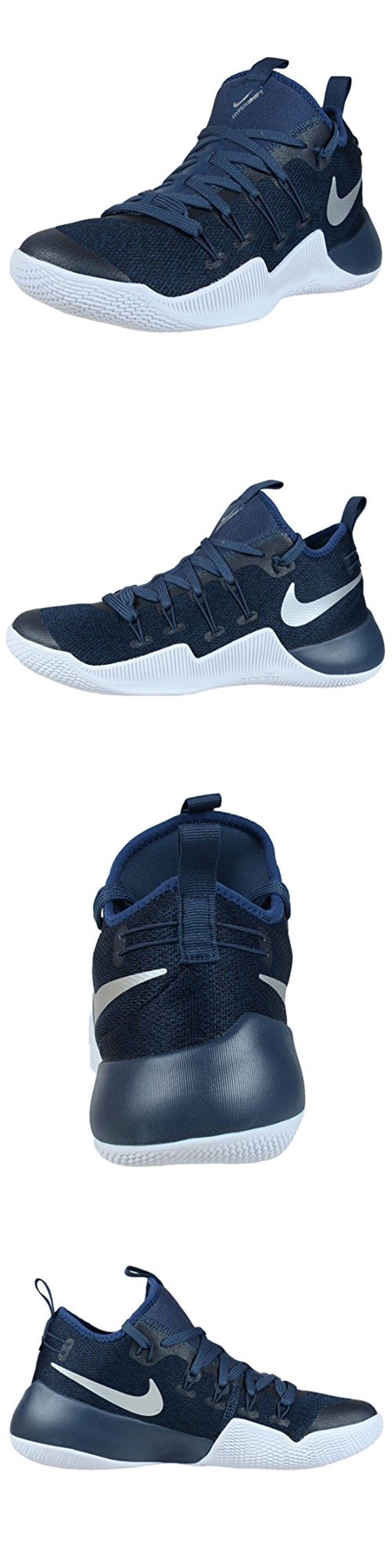 Men 158971  Nike Men S Hypershift Basketball Shoes 844369 410 Blue Metallic  Silver Size 11 a2e7e518a