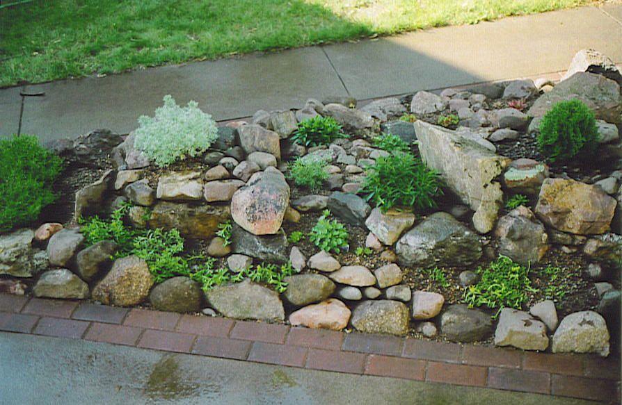 Garden Design Ideas Photo Above Is An Atribute Rock Small Garden