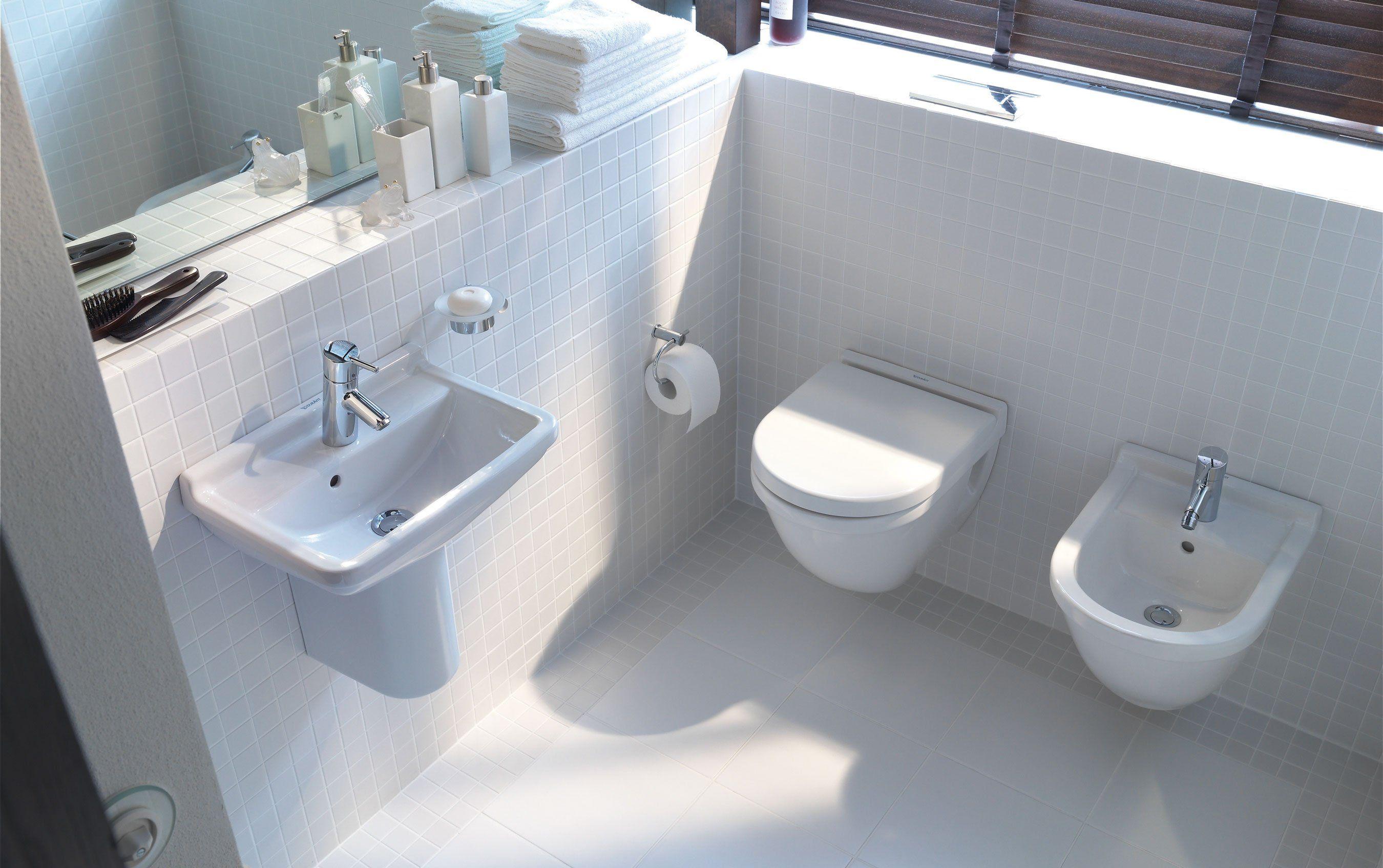 Sanitari Sospesi E Lavandini Bagno Salvaspazio Foto Bathroom