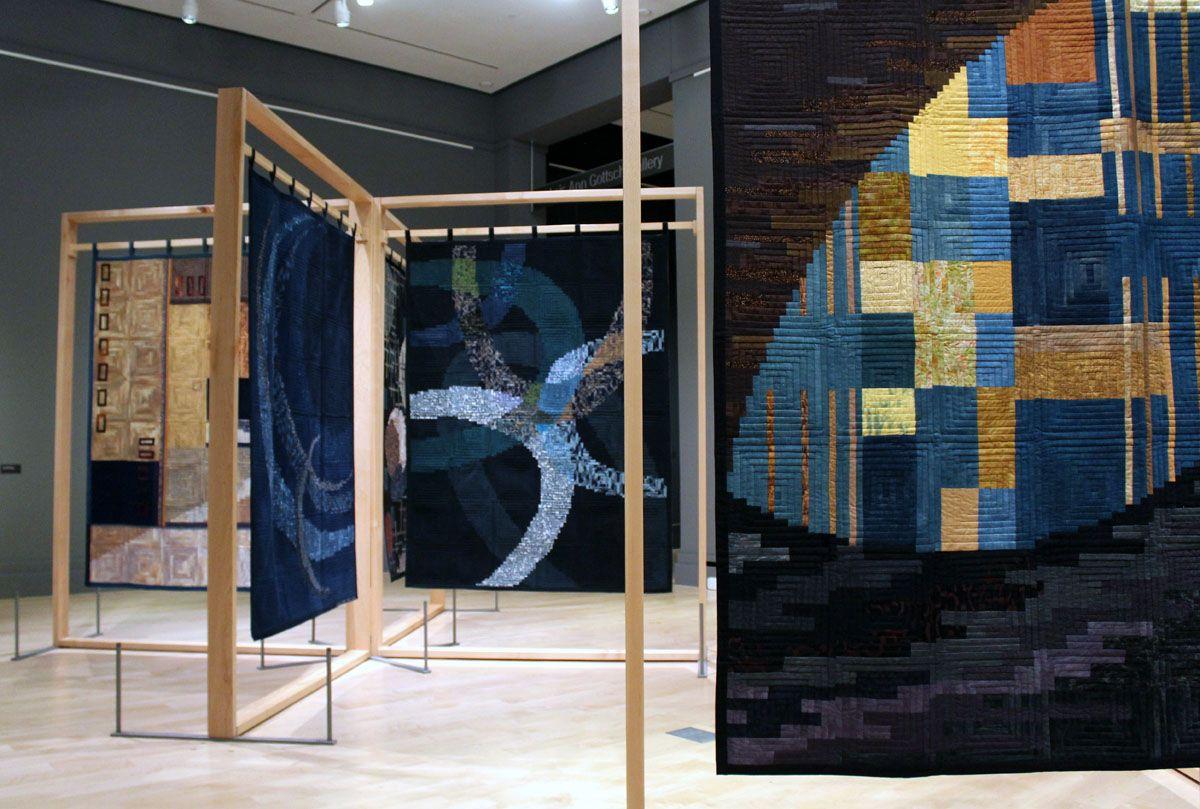 Dualities Emiko Toda Loeb International Quilt Museum Lincoln Ne Quilts Museum Art Quilts