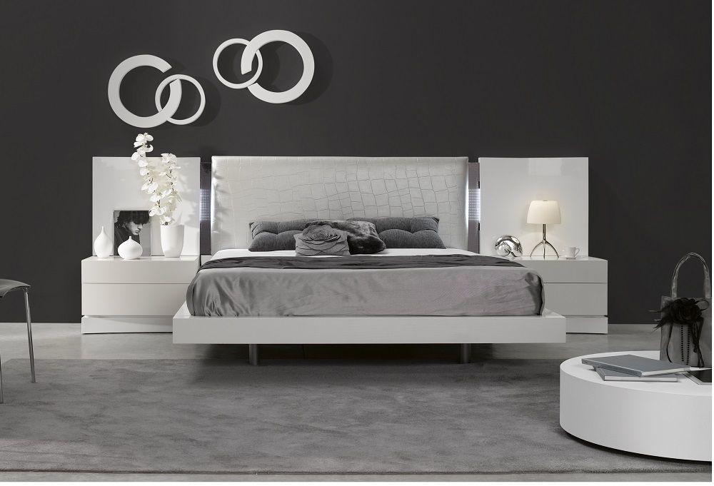 Ju0026M Furniture Seville Platform Bedroom Collection Pieces)