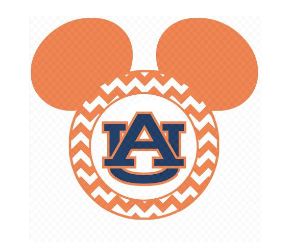 print at home iron on decal auburn university chevron mickey mouse rh pinterest com Auburn Tiger Eyes Auburn Tigers Wallpaper