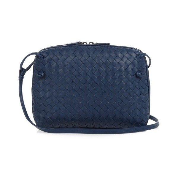 56e5add309e4 Bottega Veneta Nodini intrecciato leather cross-body bag ( 1