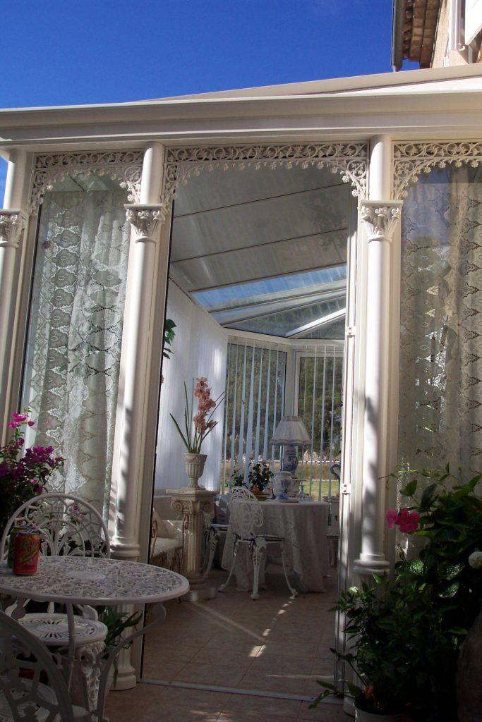 Détails véranda à l'ancienne | Véranda rustique, Véranda victorienne, Veranda