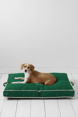 Want the navy color...Rectangular Dog Bed Cover from Lands' End