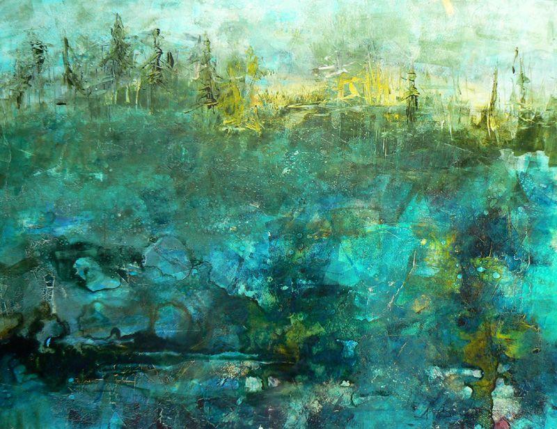 Elemental Destruction Revisited By Sharon Barfoot Lovers Art