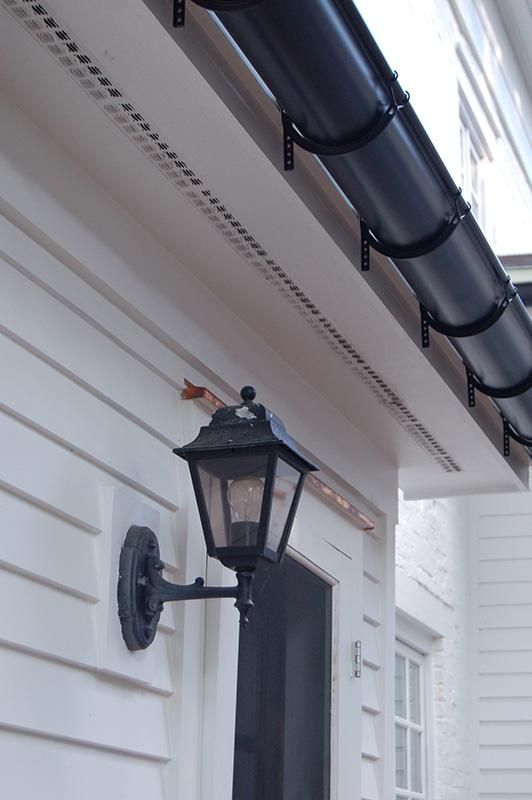 Northeast Seamless Gutter Co Half Round Gutters In