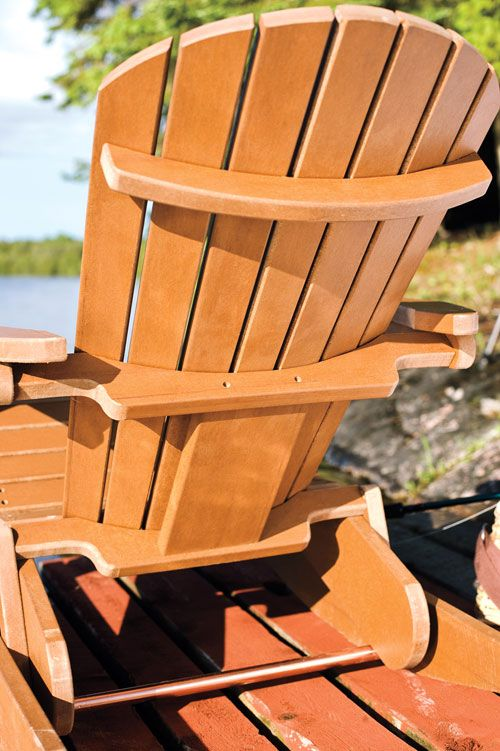 Make A Muskoka Rocking Chair From Composite Wood