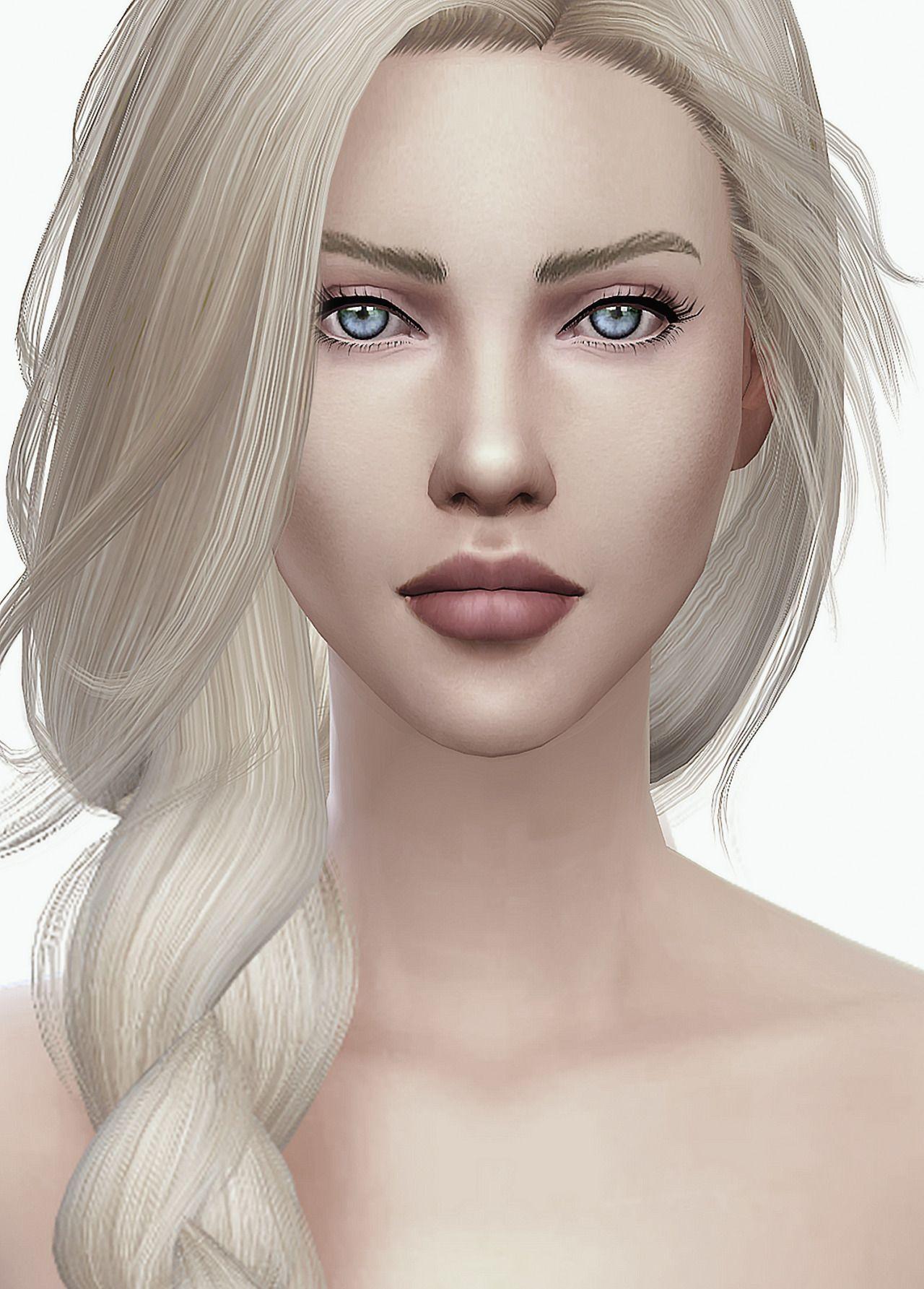 Luna skin! | Sims 4 mods ^_^ | Sims, The sims 4 skin och ...