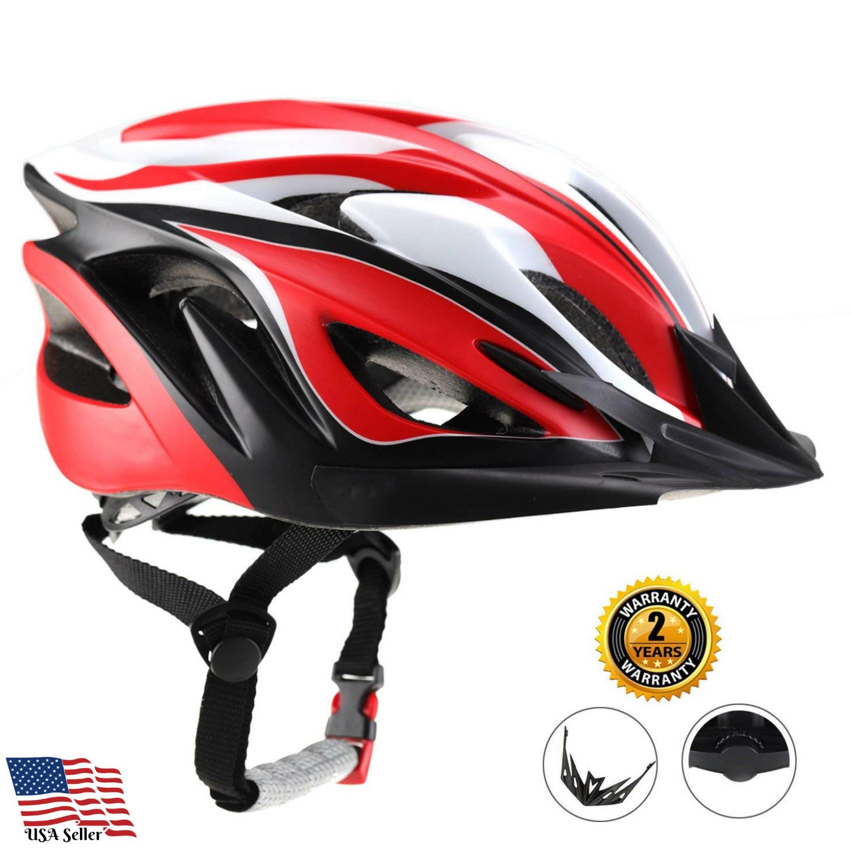 Ultra Light Adujstable Padded Pink Black Adult Bike Helmet Men
