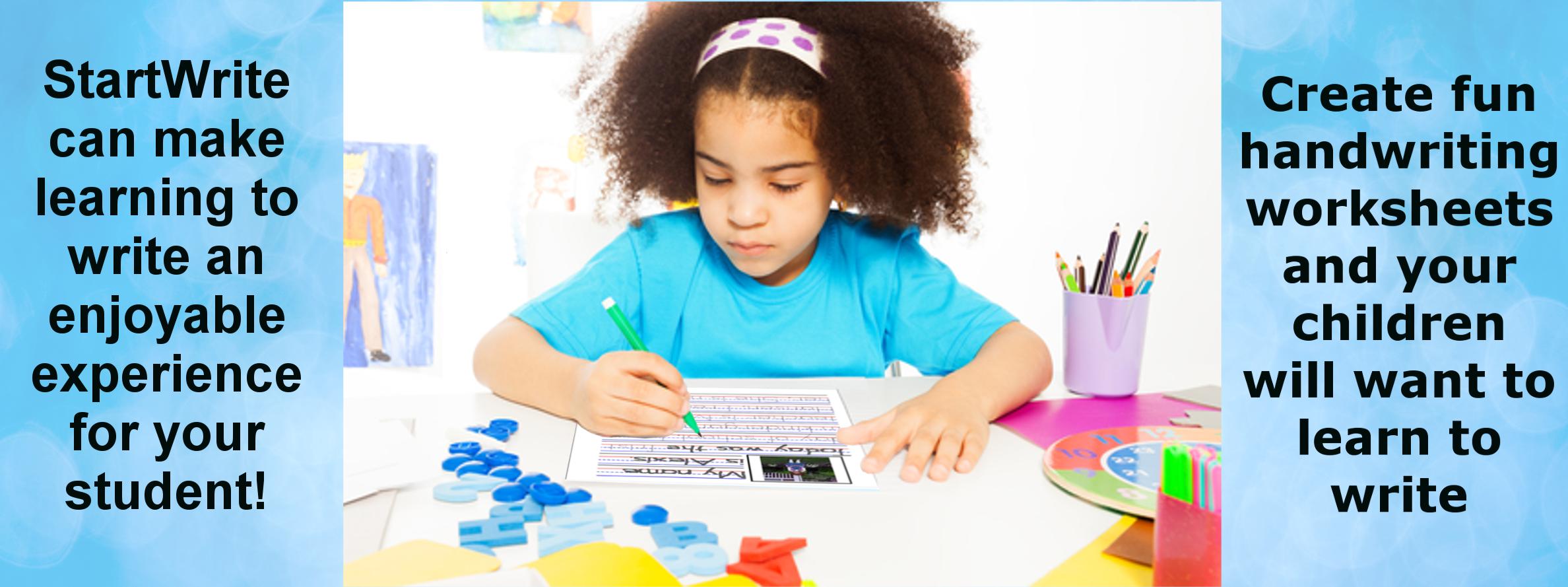 Free Handwriting Worksheets