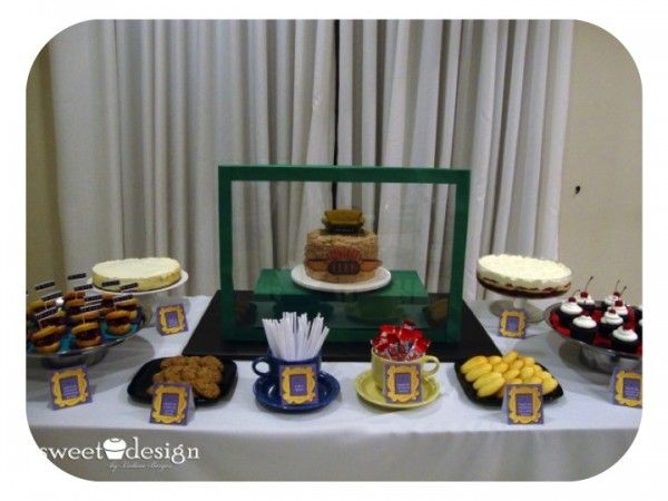 friends tv show party yum friends themed wedding friends tv party. Black Bedroom Furniture Sets. Home Design Ideas