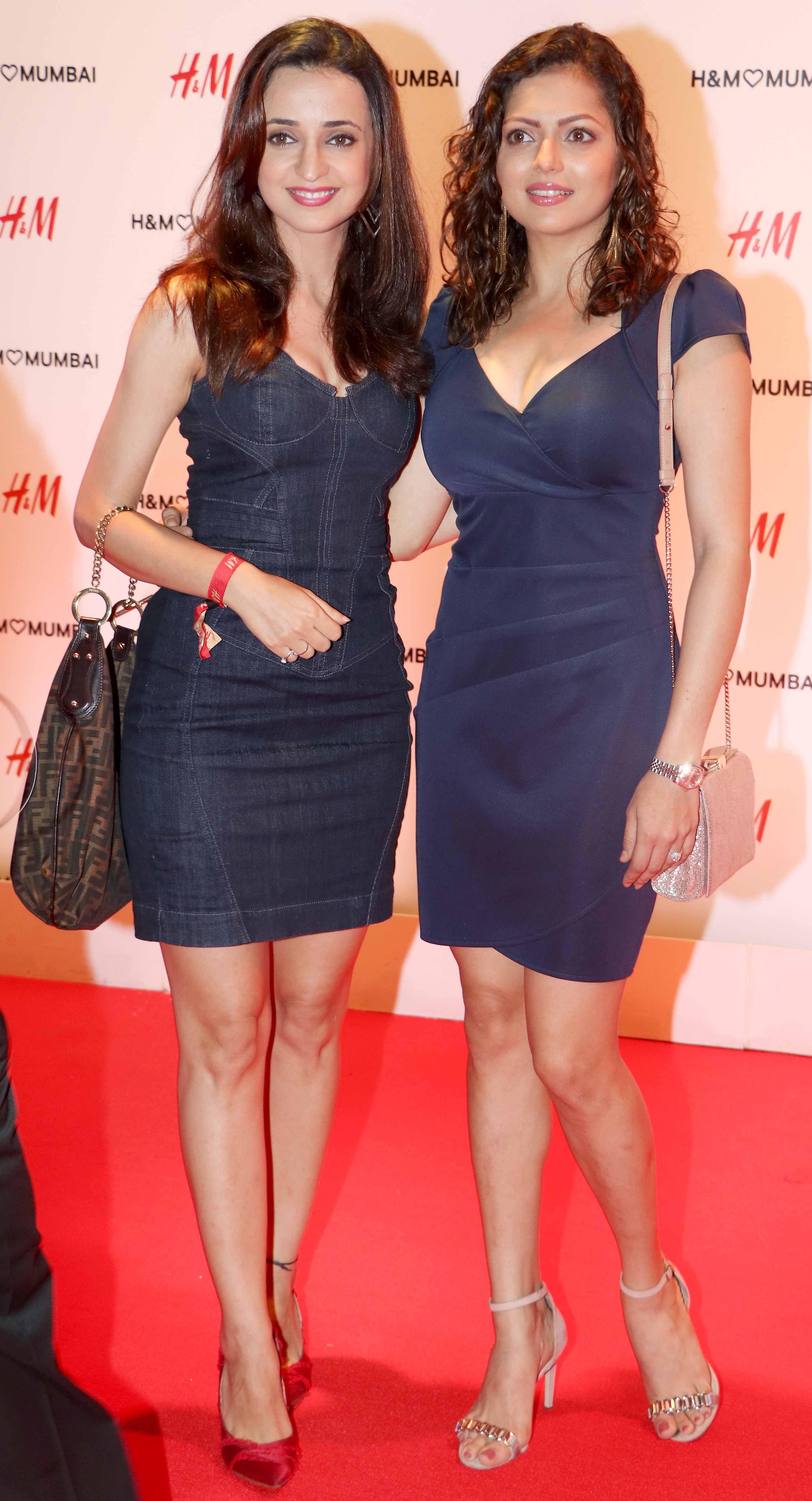 Sanaya Irani And Drashti Dhami At Hms Store Launch Bash In Mumbai Bollywood Fashion Style Beauty Hot Sexy