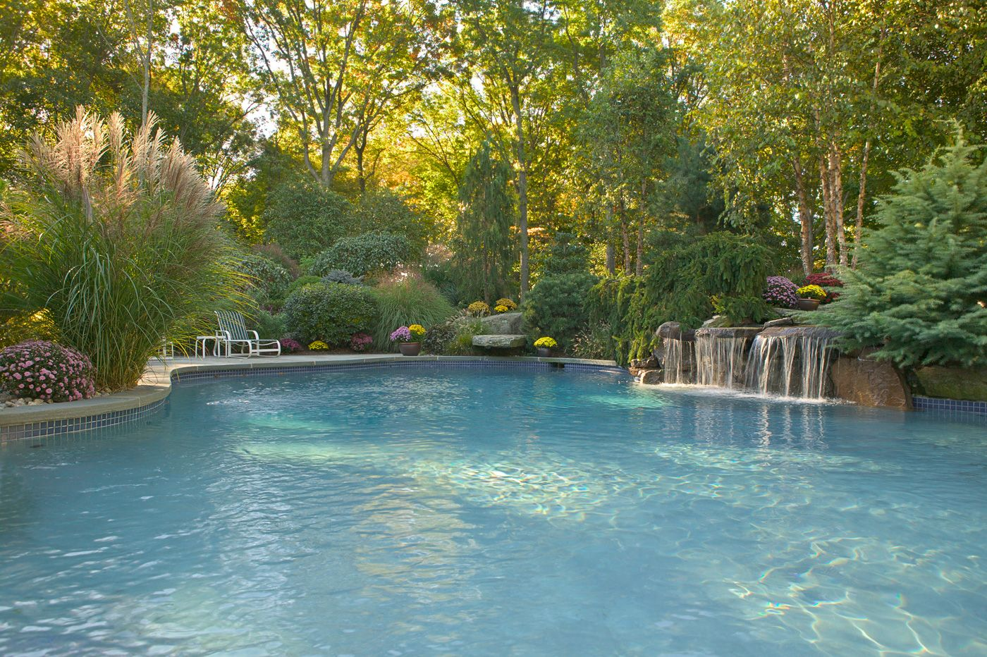 Beautiful Natural Swimming Pools In New Jersey Backyards