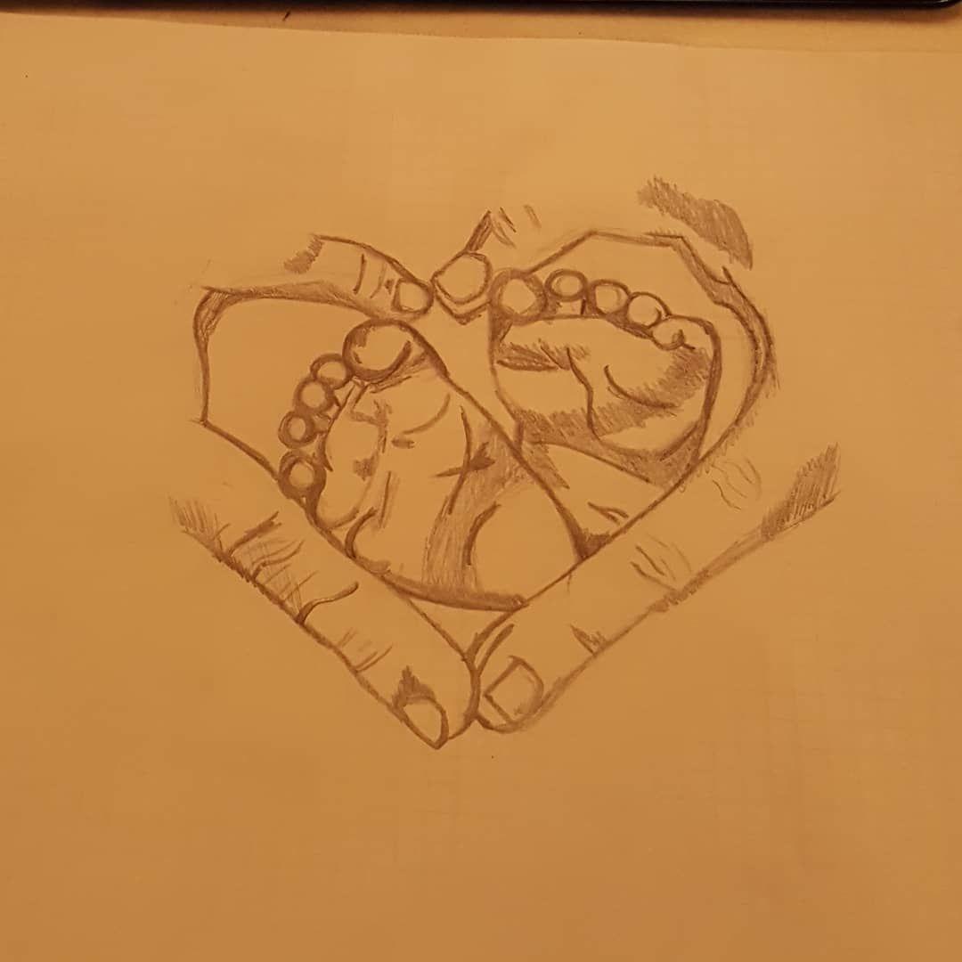 Bleistiftzeichnung Zeichnen Hande Babyfusse Dasgrostegeschenk Liebe Herz Bleistift Zeichnung Mara Bleistiftzeichnung Herz Zeichnen Zeichnung Bleistift