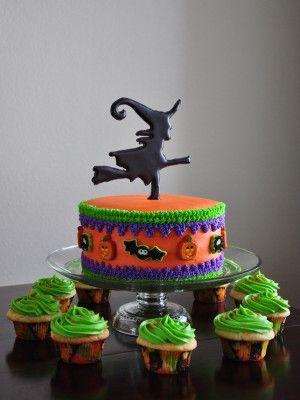 Halloween Witch Halloween Cakes Pinterest Witch cake, Cake - halloween cake decorating pictures