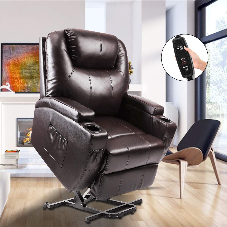 Power Lift Recliner Fitnessclub Electric Massage Recliner Sofa