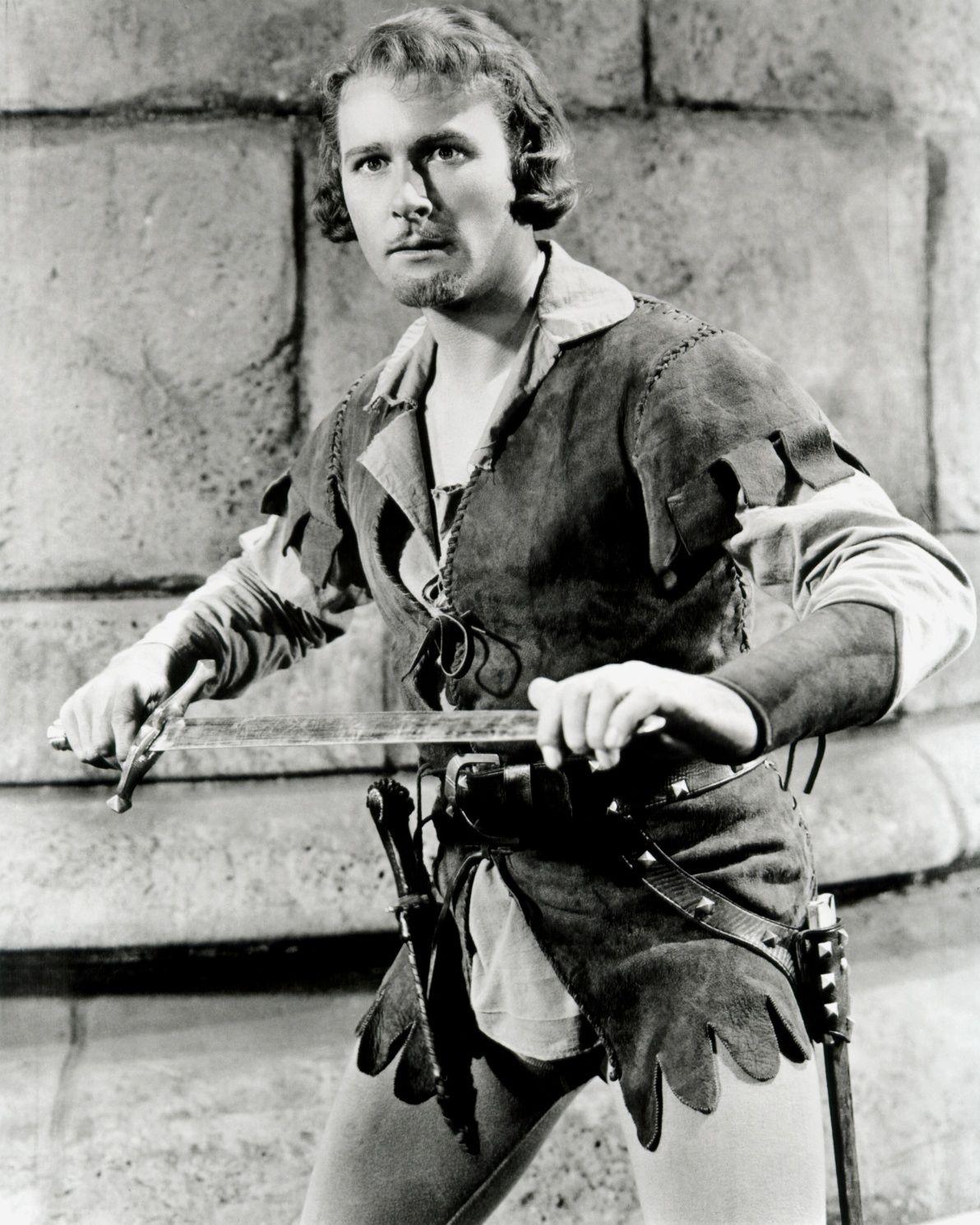 1938 The Adventures of Robin Hood. Errol Flynn