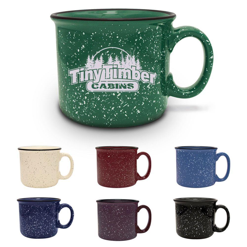 S'More Mug Bulk Custom Printed 14oz Ceramic Speckled