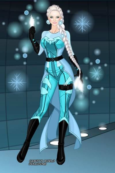 X-Men Elsa made with Dollmaker. I dig it! Image found on ... X Men Girl Creator