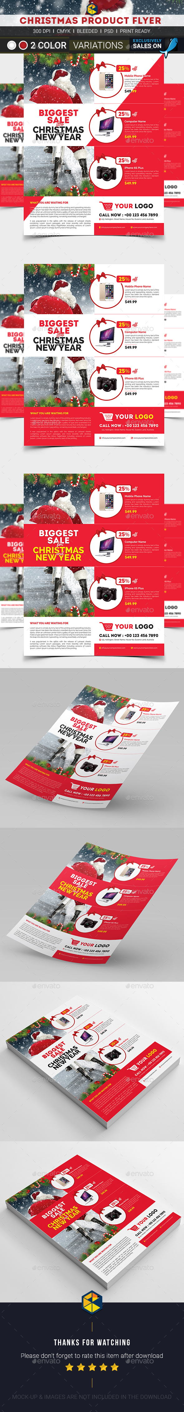 christmas product flyer templates banner flyer christmas product flyer templates