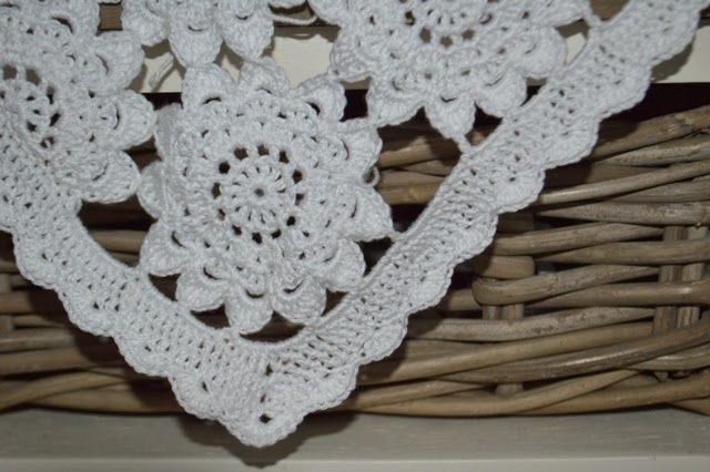 Rand Voor Brocante Sprei Made By Rooz Crochet Weave Knit
