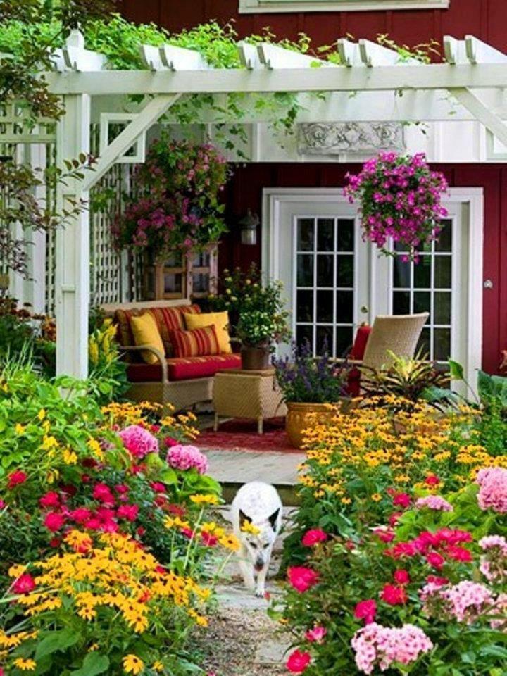 jardines Relaxing Backyard Oasis Pinterest Jardines, Jardín y