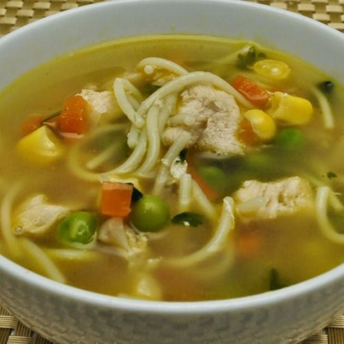 easy crock pot chicken noodle soup recipe chicken with