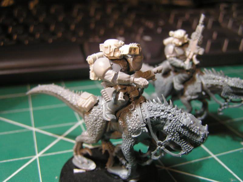 Imperial Guard Warhammer 40k Drogan 22nd/23rd Voltige