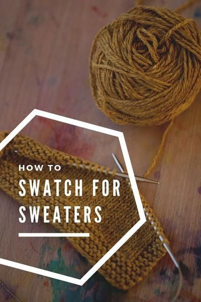 Photo of Bleideag: an easy yoke sweater that beginners can tackle :  How to swatch for sw…