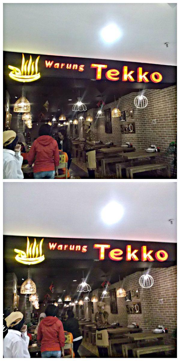 "Pendataan reklame indoor ""Warung Tekko"" Mall @Bassura"