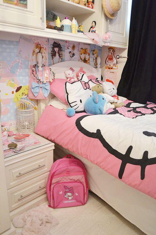 Hello Kitty Bedroom, Otaku