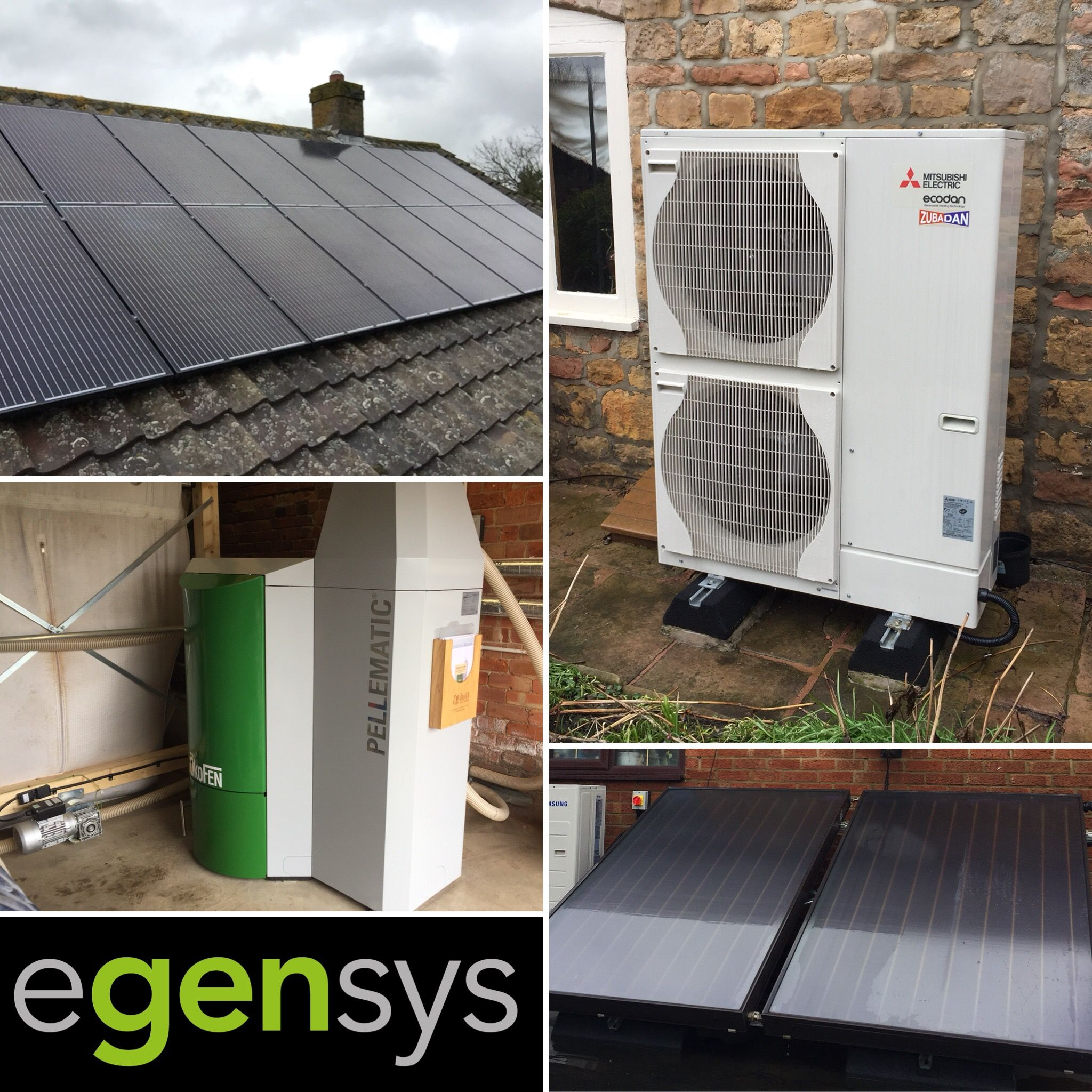 Egensys can offer a complete renewables package including