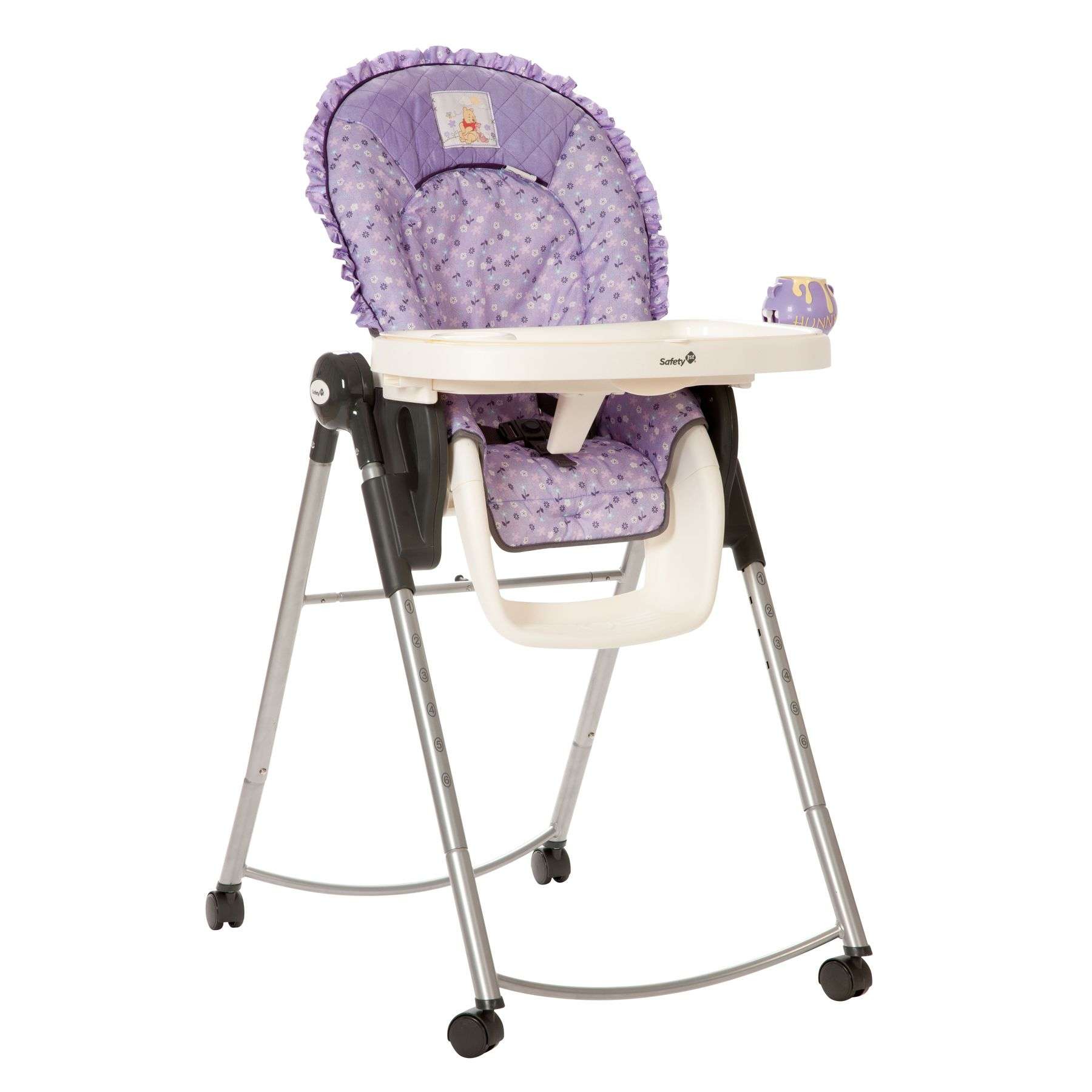 pooh's garden adjustable high chair from safety 1st | baby shower