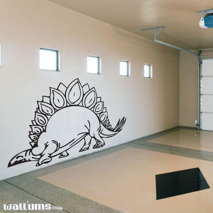 Stegosaurus Dinosaur Wall Decal -