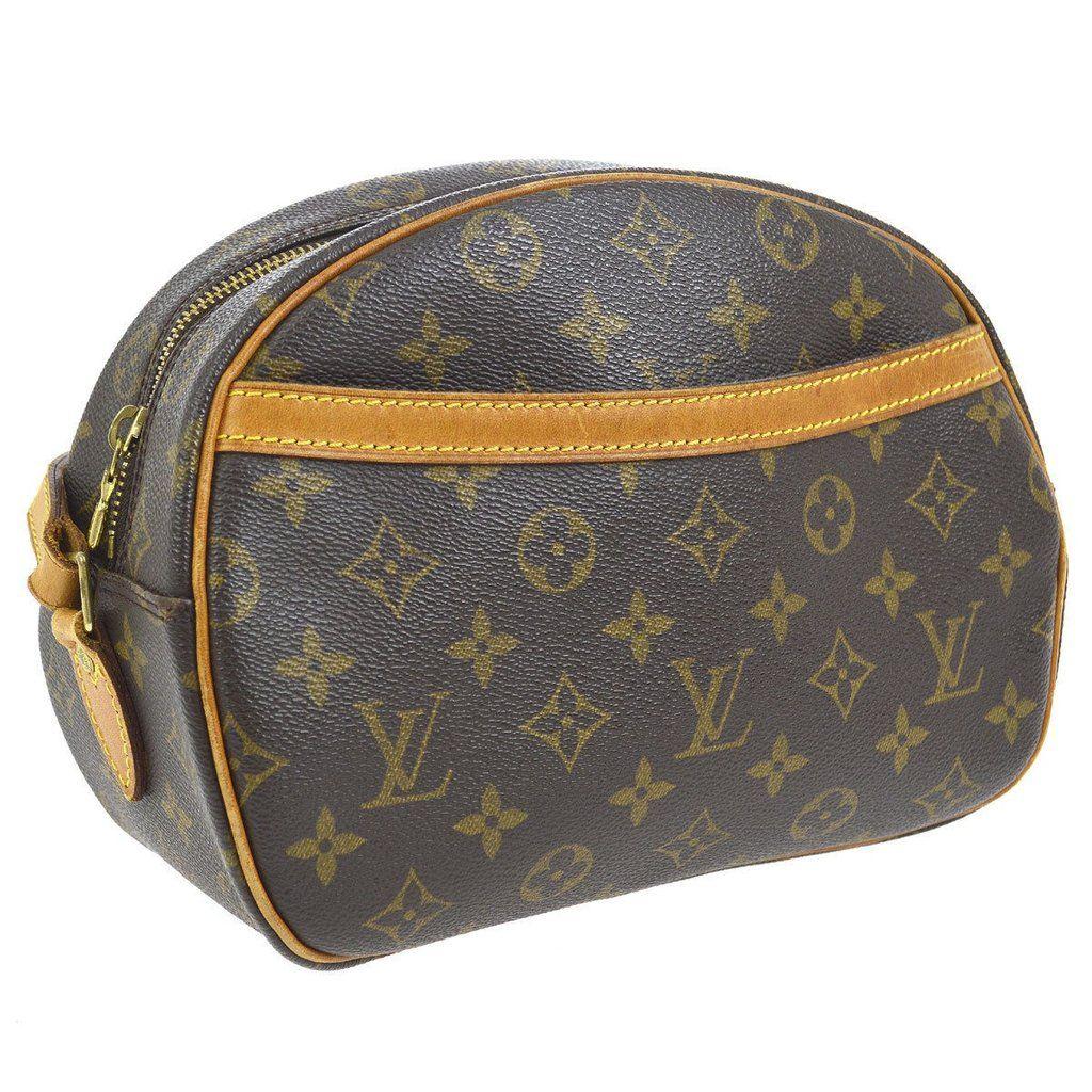 03f693a756 LOUIS VUITTON Monogram Blois Crossbody   Best Vintage Louis Vuitton ...