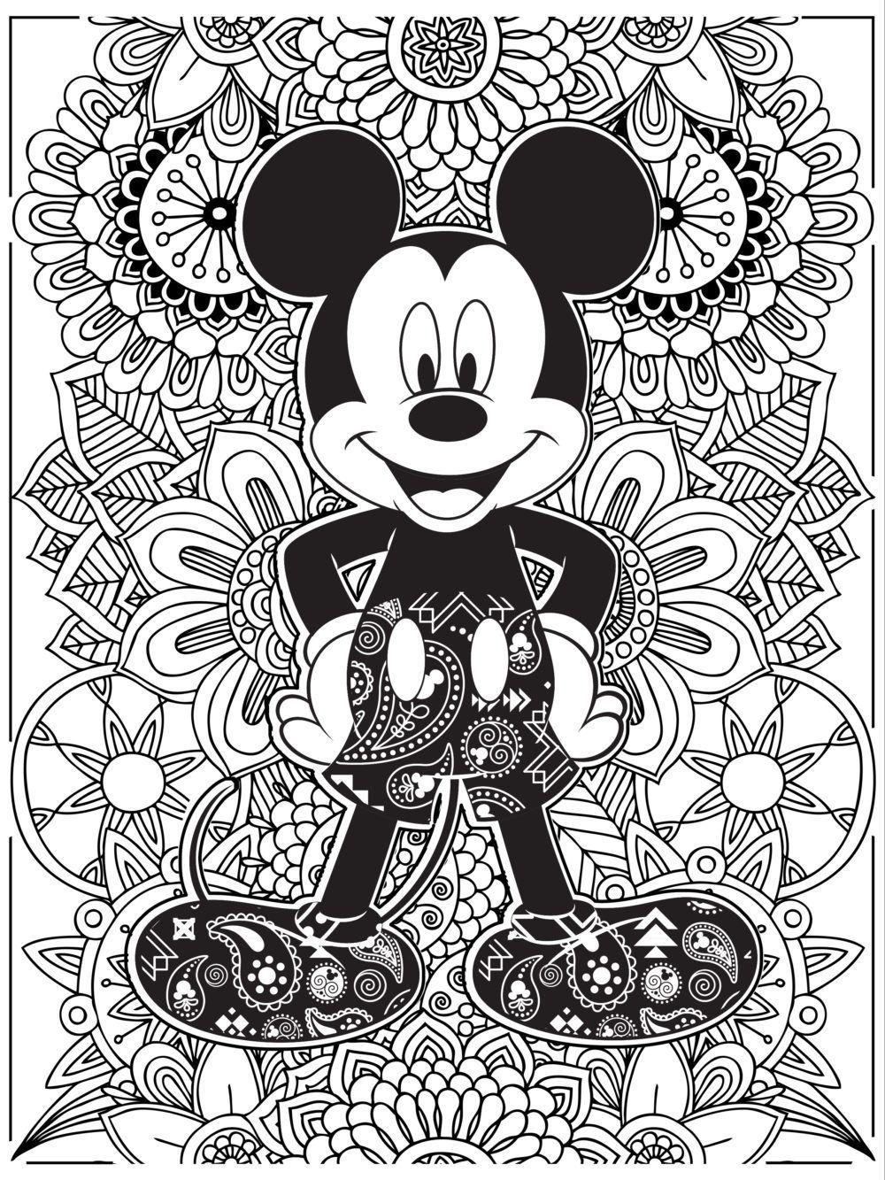 Disney News  Disney  Disney coloring sheets, Mickey mouse