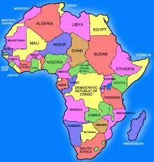 Printable Map Of Free Africa Maps Atlas