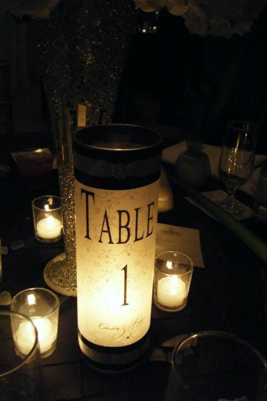 One Project At Atime Diy Wedding Details Diy Table Numbers Wedding Details Wedding