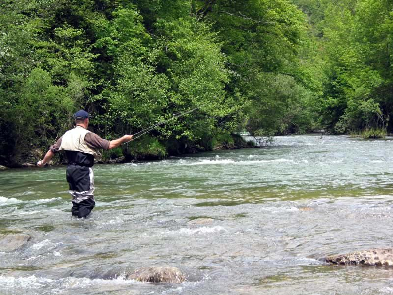 Hem Would Spend Hours And Hours Alone Fishing The Irati River Fly Fishing Trout Fishing Fish