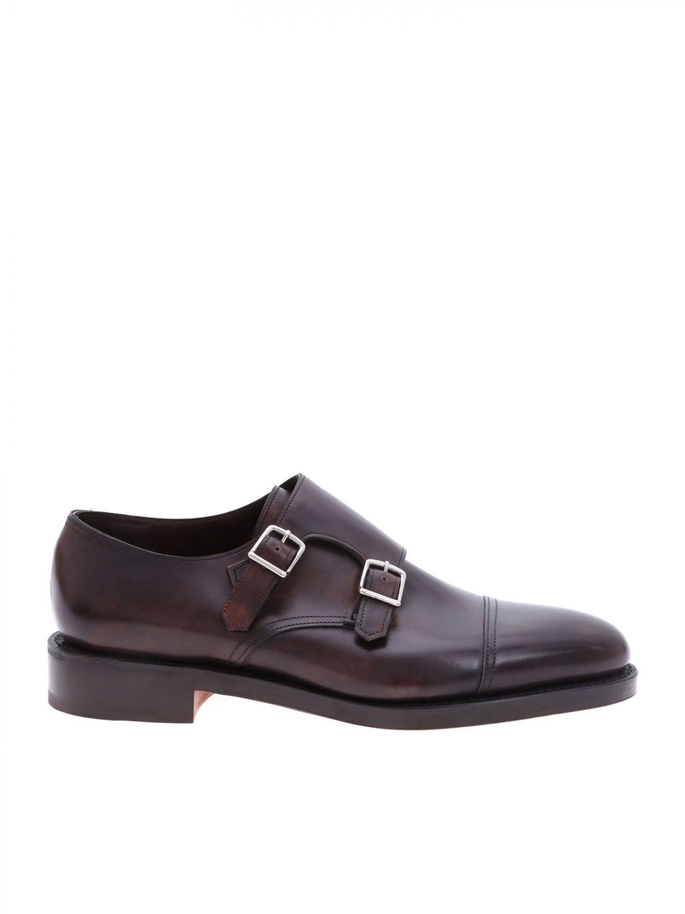 473187e966e Lopez penny-strap leather loafers