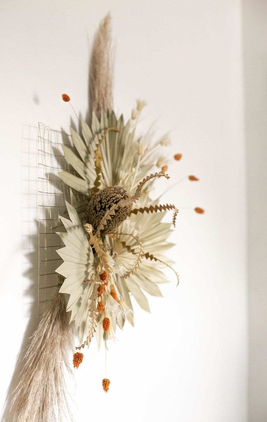 Diy Dried Flower Wall Hanging Flower Party Hanging Flower Arrangements Diy Flower Wall Hanging Flower Wall