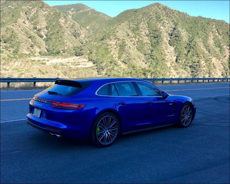 Porsche Panamera Turbo S EHybrid Sport Turismo Complex