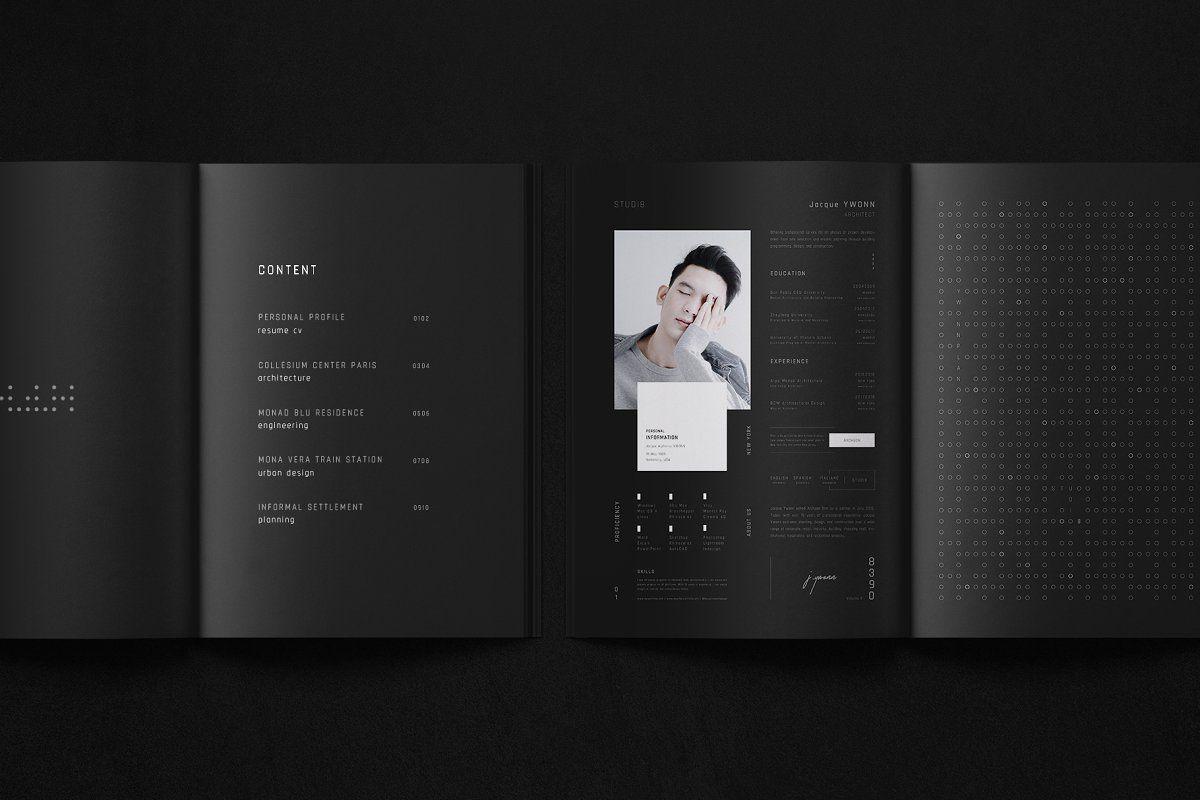 Archeon Architecture Portfolio Architecture Portfolio Architecture Brochures Brochure Design Template