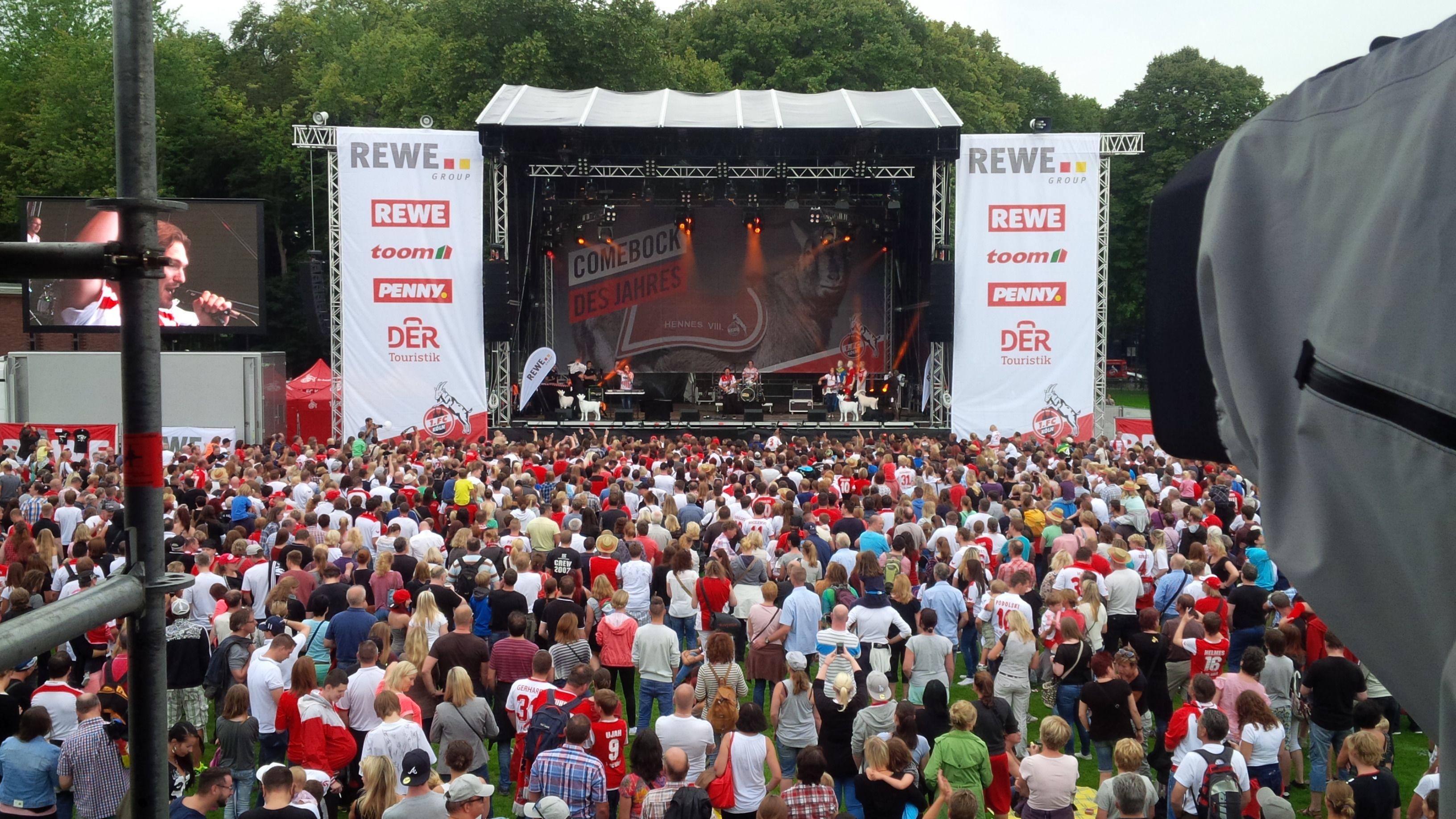1 Fc Köln Saisoneröffnung