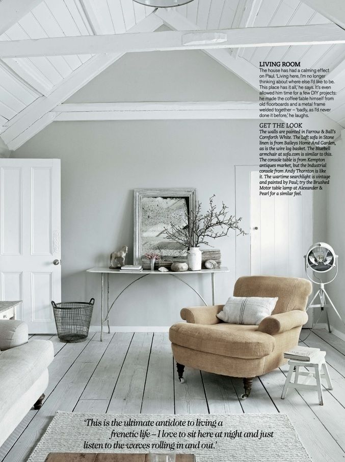 Farrow Ball Cornforth White More About The Wall Colour Than Room Itself
