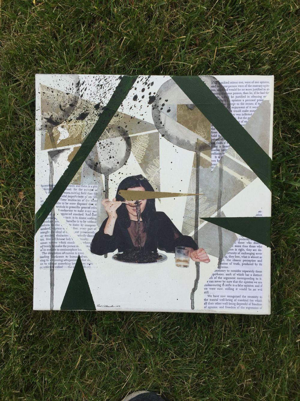 My Björk collage. @minimissoulian miniaturemissoulian@gmail.com