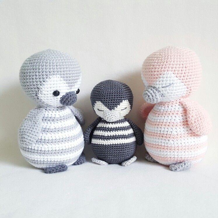 Baby penguin amigurumi pattern - Amigurumi Today   747x747